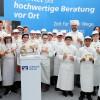 Europa-Miniköche EIFEL beim Bedamarkt in Bitburg im Einsatz