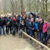 Exkursion der Gastgeber Nationalpark Eifel in die Südeifel