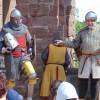 Deutscher Ritterconvent schlägt sein Lager auf Burg Nideggen auf