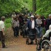 Rollstuhl- und Rollatorexkursion im Mayener Stadtwald am 19. Mai