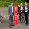 Neue Radservice-Station der Caritas am Forum Vogelsang IP erleichtert Nationalpark-Touren