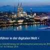 """Einladung zum 4.  Deutschen Gästeführertag """"Gästeführer in der digitalen Welt"""" in Köln im Februar 2019"""