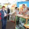 Ranger präsentieren Nationalpark Eifel in der Hauptstadt