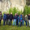 Wanderführer der Vulkanregion Laacher See unterwegs…  Erkundungstour im Tuffsteinzentrum Weibern