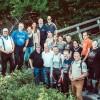 Routenteam und Tourguides Eifel-Motorrad informieren sich im Rahmen der 2. Jahressitzung im Nationalpark Eifel