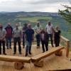 Neue Aussichtsplattform am Hochsimmer in der Vordereifel