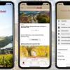 Neue Rheinland-Pfalz erleben App Handzettel mit Aufsteller